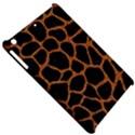 SKIN1 BLACK MARBLE & RUSTED METAL Apple iPad Mini Hardshell Case View5