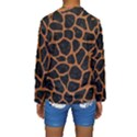 SKIN1 BLACK MARBLE & RUSTED METAL Kids  Long Sleeve Swimwear View2