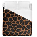 SKIN1 BLACK MARBLE & RUSTED METAL Duvet Cover (Queen Size) View1
