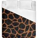 SKIN1 BLACK MARBLE & RUSTED METAL Duvet Cover (King Size) View1