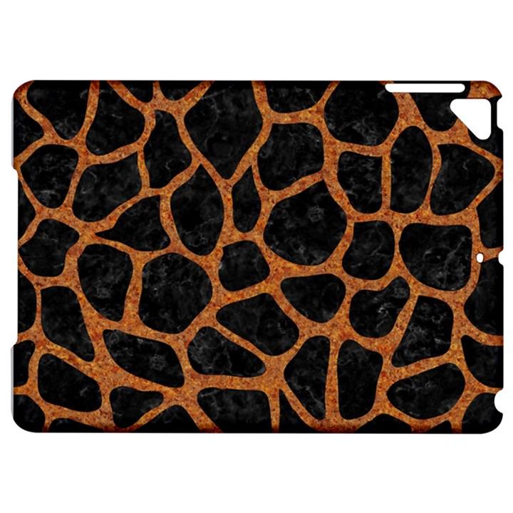 SKIN1 BLACK MARBLE & RUSTED METAL Apple iPad Pro 9.7   Hardshell Case