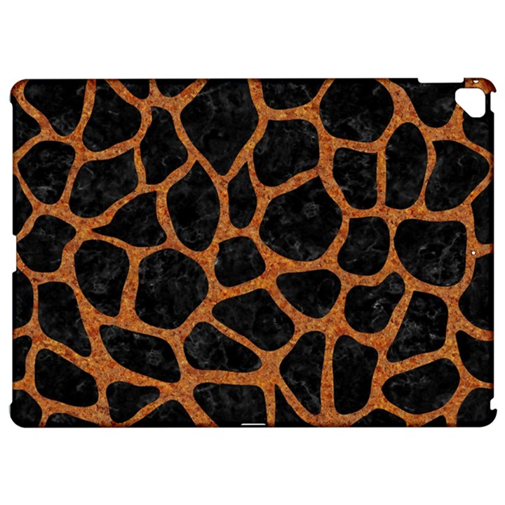 SKIN1 BLACK MARBLE & RUSTED METAL Apple iPad Pro 12.9   Hardshell Case