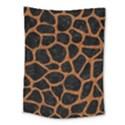 SKIN1 BLACK MARBLE & RUSTED METAL Medium Tapestry View1