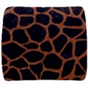SKIN1 BLACK MARBLE & RUSTED METAL Back Support Cushion View1