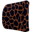 SKIN1 BLACK MARBLE & RUSTED METAL Back Support Cushion View3
