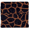 SKIN1 BLACK MARBLE & RUSTED METAL Back Support Cushion View4