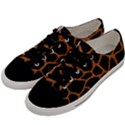 SKIN1 BLACK MARBLE & RUSTED METAL Men s Low Top Canvas Sneakers View2