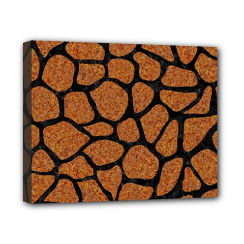 Skin1 Black Marble & Rusted Metal (r) Canvas 10  X 8