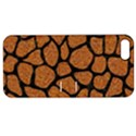 SKIN1 BLACK MARBLE & RUSTED METAL (R) Apple iPhone 5 Hardshell Case with Stand View1