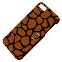 SKIN1 BLACK MARBLE & RUSTED METAL (R) Apple iPhone 5 Hardshell Case with Stand View4