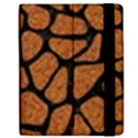 SKIN1 BLACK MARBLE & RUSTED METAL (R) Samsung Galaxy Tab 7  P1000 Flip Case View2