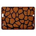 SKIN1 BLACK MARBLE & RUSTED METAL (R) Amazon Kindle Fire HD (2013) Hardshell Case View1