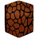 SKIN1 BLACK MARBLE & RUSTED METAL (R) iPad Air Flip View3