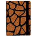SKIN1 BLACK MARBLE & RUSTED METAL (R) iPad Air 2 Flip View2