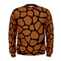 SKIN1 BLACK MARBLE & RUSTED METAL (R) Men s Sweatshirt View1