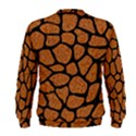 SKIN1 BLACK MARBLE & RUSTED METAL (R) Men s Sweatshirt View2