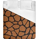 SKIN1 BLACK MARBLE & RUSTED METAL (R) Duvet Cover (California King Size) View1