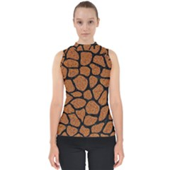 Skin1 Black Marble & Rusted Metal (r) Shell Top