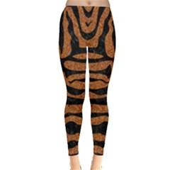 Skin2 Black Marble & Rusted Metal Leggings