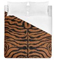 SKIN2 BLACK MARBLE & RUSTED METAL Duvet Cover (Queen Size) View1