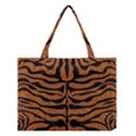 SKIN2 BLACK MARBLE & RUSTED METAL Medium Tote Bag View1