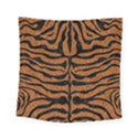 SKIN2 BLACK MARBLE & RUSTED METAL Square Tapestry (Small) View1
