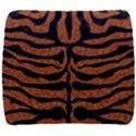 SKIN2 BLACK MARBLE & RUSTED METAL Back Support Cushion View1