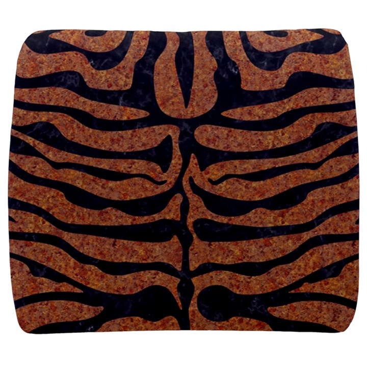 SKIN2 BLACK MARBLE & RUSTED METAL Back Support Cushion