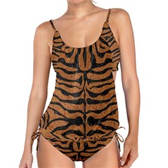 Skin2 Black Marble & Rusted Metal Tankini Set