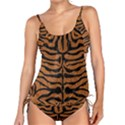 SKIN2 BLACK MARBLE & RUSTED METAL Tankini Set View1