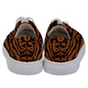 SKIN2 BLACK MARBLE & RUSTED METAL Kids  Low Top Canvas Sneakers View4