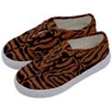 SKIN2 BLACK MARBLE & RUSTED METAL Kids  Classic Low Top Sneakers View2