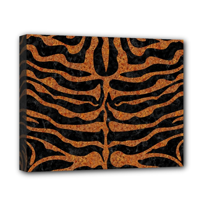 SKIN2 BLACK MARBLE & RUSTED METAL (R) Canvas 10  x 8