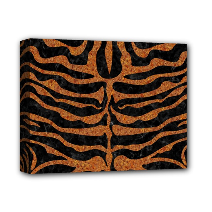 SKIN2 BLACK MARBLE & RUSTED METAL (R) Deluxe Canvas 14  x 11