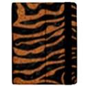 SKIN2 BLACK MARBLE & RUSTED METAL (R) Apple iPad 2 Flip Case View2