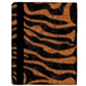 SKIN2 BLACK MARBLE & RUSTED METAL (R) Apple iPad 2 Flip Case View3