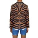 SKIN2 BLACK MARBLE & RUSTED METAL (R) Kids  Long Sleeve Swimwear View2