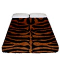SKIN2 BLACK MARBLE & RUSTED METAL (R) Fitted Sheet (California King Size) View1