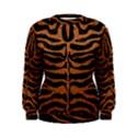 SKIN2 BLACK MARBLE & RUSTED METAL (R) Women s Sweatshirt View1