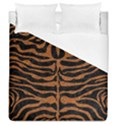 SKIN2 BLACK MARBLE & RUSTED METAL (R) Duvet Cover (Queen Size) View1