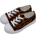 SKIN2 BLACK MARBLE & RUSTED METAL (R) Kids  Low Top Canvas Sneakers View2