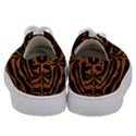 SKIN2 BLACK MARBLE & RUSTED METAL (R) Kids  Low Top Canvas Sneakers View4