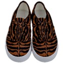 SKIN2 BLACK MARBLE & RUSTED METAL (R) Kids  Classic Low Top Sneakers View1