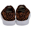 SKIN2 BLACK MARBLE & RUSTED METAL (R) Kids  Classic Low Top Sneakers View4