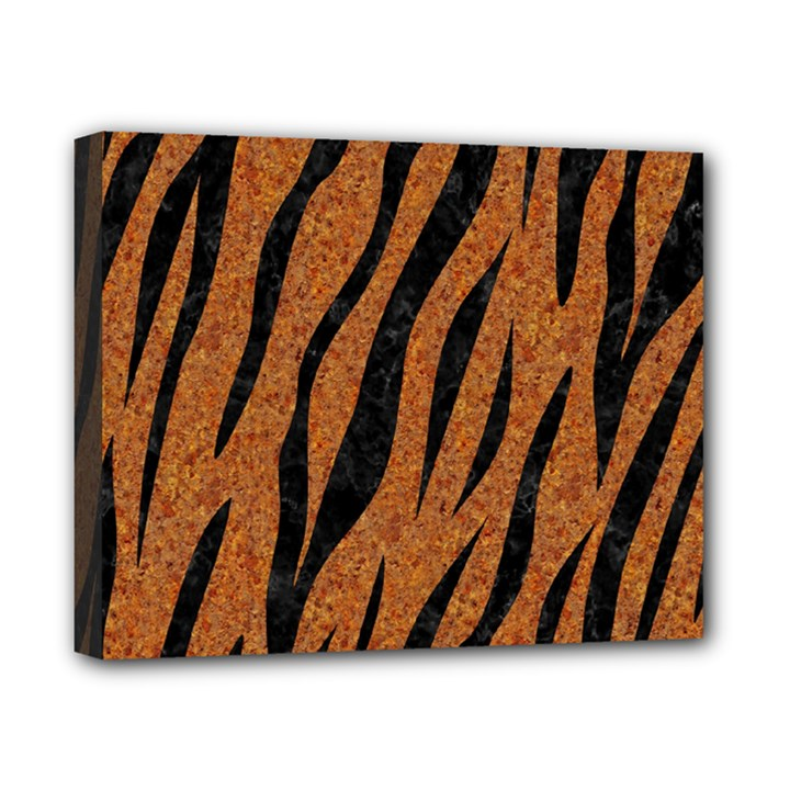 SKIN3 BLACK MARBLE & RUSTED METAL Canvas 10  x 8
