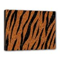 SKIN3 BLACK MARBLE & RUSTED METAL Canvas 16  x 12  View1