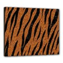SKIN3 BLACK MARBLE & RUSTED METAL Canvas 24  x 20  View1
