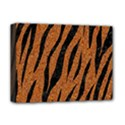SKIN3 BLACK MARBLE & RUSTED METAL Deluxe Canvas 16  x 12   View1