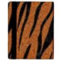 SKIN3 BLACK MARBLE & RUSTED METAL Apple iPad 2 Flip Case View3