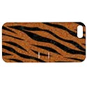 SKIN3 BLACK MARBLE & RUSTED METAL Apple iPhone 5 Hardshell Case with Stand View1